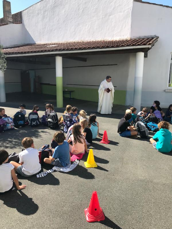 Benediction des cartables 2