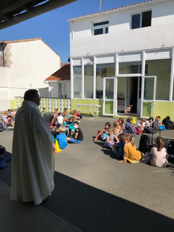 Benediction des cartables 3